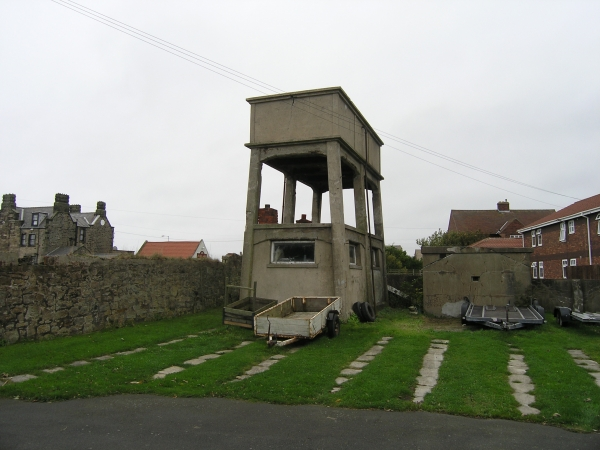 Water Tower and Pillbox, Seaton Sluice